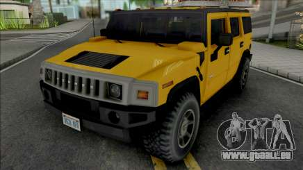 Hummer H2 2003 Improved pour GTA San Andreas