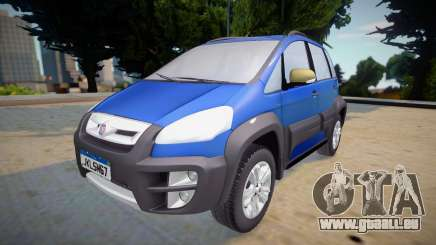 Fiat Idea Adventure 2011 pour GTA San Andreas