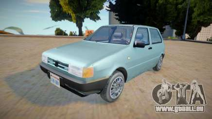 Fiat Uno Mille 1995 - Improved pour GTA San Andreas
