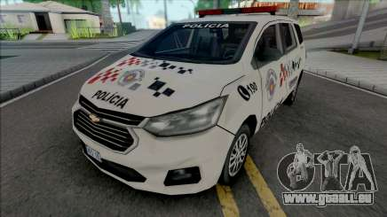 Chevrolet Spin 2019 PMESP Improved pour GTA San Andreas