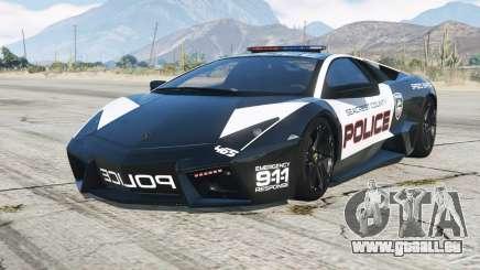 Lamborghini Reventon 2008〡Hot Poursuite Police pour GTA 5