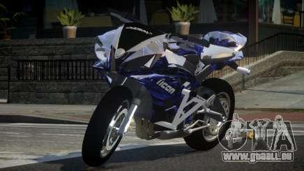 Yamaha R6 G-Style L1 pour GTA 4