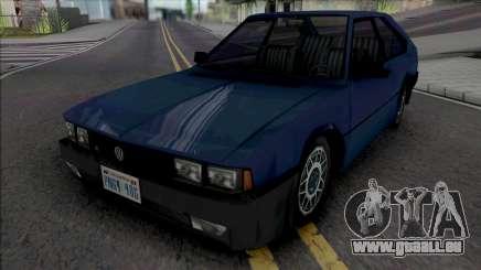 Volkswagen Passat GTS Pointer 1988 pour GTA San Andreas