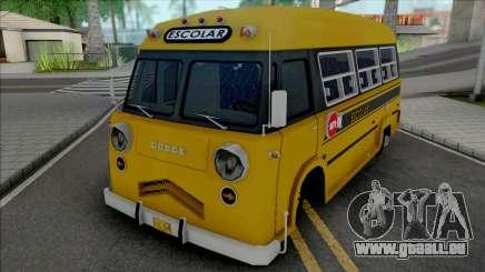 Dodge Bus Escolar v2 pour GTA San Andreas