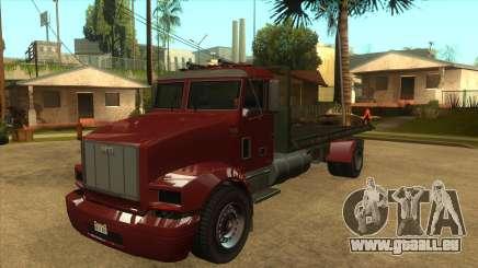 GTA V MTL Flatbed (IVF) pour GTA San Andreas