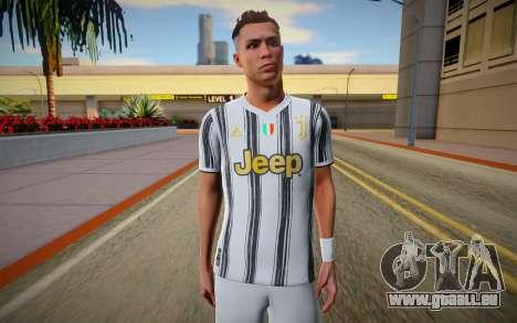 Cristiano Ronaldo Skin pour GTA San Andreas