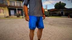 Darker Colored Cut Off Denims Shorts For Cj pour GTA San Andreas