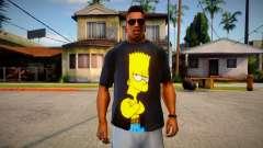 Bart Simpson T-Shirt (good textures) für GTA San Andreas
