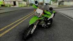 Kawasaki KLX 150 Green pour GTA San Andreas