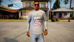 Vice City Sweater for CJ pour GTA San Andreas