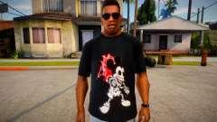 Mickey Mouse T-Shirt (good textures) für GTA San Andreas