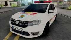 Dacia Logan Plus Fire Department für GTA San Andreas