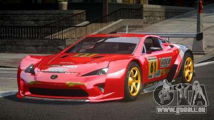 Lexus LFA PSI-R L1 für GTA 4