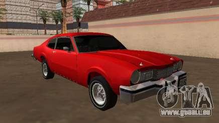 Mercury Comet Coupe 1975 für GTA San Andreas