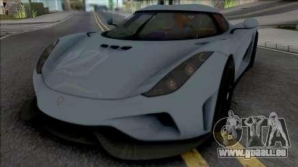 Koenigsegg Regera 2016 from Real Racing 3 pour GTA San Andreas