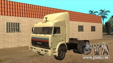 Kamaz 54115 (Camionneurs) v2 pour GTA San Andreas