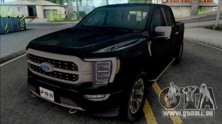 Ford F150 2021 Platinum Edition für GTA San Andreas