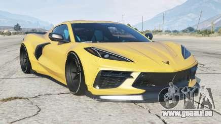Chevrolet Corvette Stingray Mansaug (C8) 2020〡add-on pour GTA 5