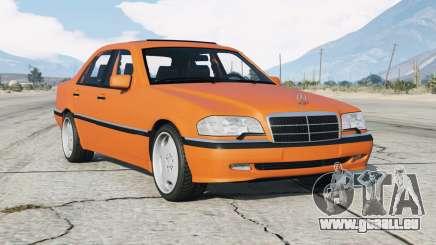 Mercedes-Benz C 200 Elegance (W202) 1998 v1.2 pour GTA 5