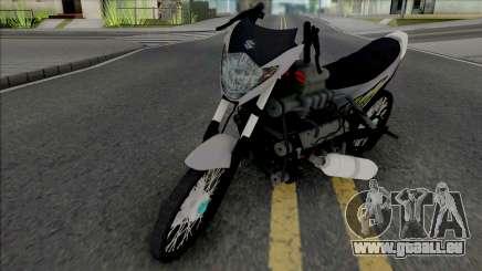 Suzuki Satria Drag Style pour GTA San Andreas