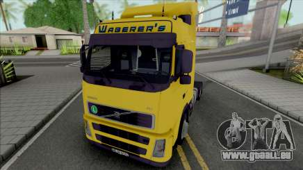 Volvo FH12 460 Waberers pour GTA San Andreas