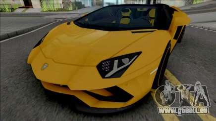 Lamborghini Aventador S Roadster pour GTA San Andreas