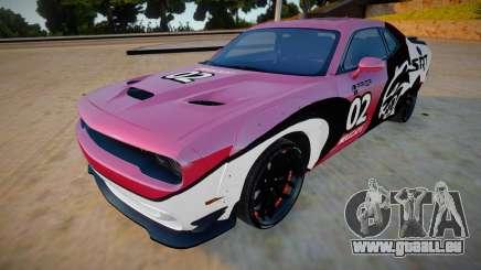 Dodge Challenger Hellcat Prior Design pour GTA San Andreas