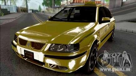 Ikco Samand LX Taxi pour GTA San Andreas
