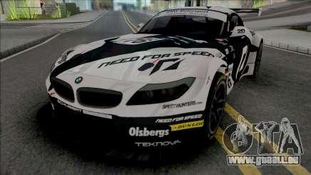 BMW Z4 GT3 Team NFS pour GTA San Andreas