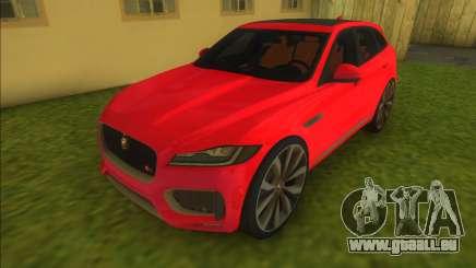 Jaguar F Pace für GTA Vice City