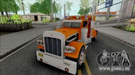 Kenworth W900 Orange pour GTA San Andreas