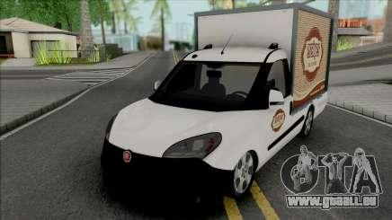 Fiat Doblo Erciyes Bakery pour GTA San Andreas