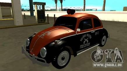 Volkswagen Beetle 1969 Paulista Patrol Radio pour GTA San Andreas