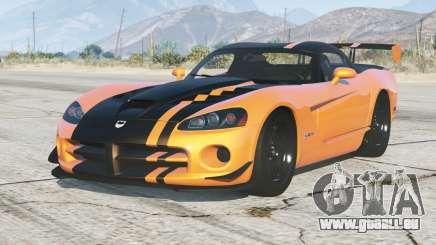 Dodge Viper SRT10 ACR 2008〡add-on pour GTA 5