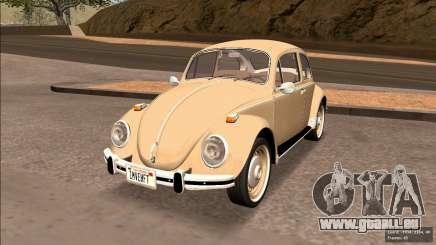 Volkswagen Beetle (Fuscao) 1500 1971 - Brésil pour GTA San Andreas