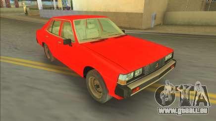 Mitsubishi Galant Sigma 1980 pour GTA Vice City