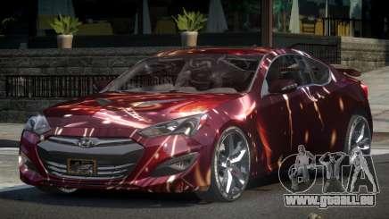 Hyundai Genesis GST Drift L10 für GTA 4