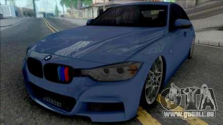 BMW 320i MSport F30 pour GTA San Andreas