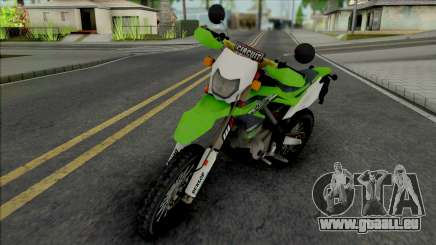 Kawasaki KLX 150 Green für GTA San Andreas