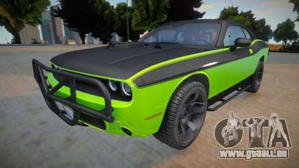 Dodge Challenger RTShaker F7 (High quality car) pour GTA San Andreas