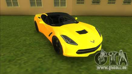 Chevrolet Corvette C7 Z51 für GTA Vice City