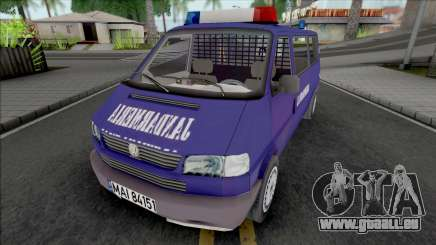Volkswagen Caravelle Jandarmeria pour GTA San Andreas