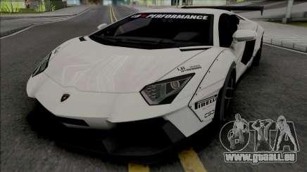 Lamborghini Aventador LP700-4 Liberty Walk pour GTA San Andreas