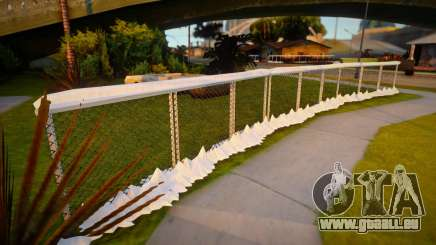 Winter Fence Mesh 5 pour GTA San Andreas