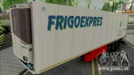 Refrigerated Trailer Frigo Express für GTA San Andreas
