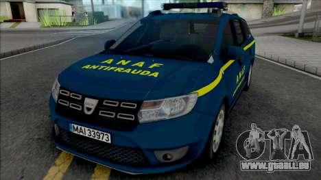 Dacia Logan MCV 2018 ANAF Antifrauda pour GTA San Andreas