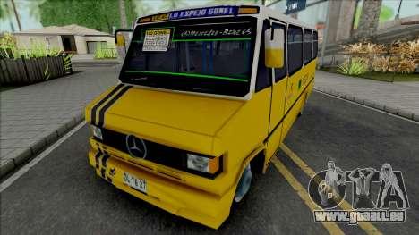 Mercedes-Benz LO 809 Inrecar pour GTA San Andreas