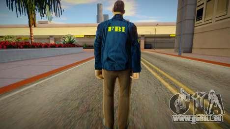 New FBI (good textures) pour GTA San Andreas