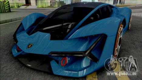 Lamborghini Terzo Millennio [Fixed] pour GTA San Andreas