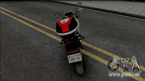 Honda XRE 300 2019 PMESP für GTA San Andreas